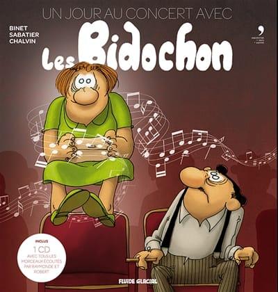 Collectif - Un jour au concert avec les Bidochon - Livre - di-arezzo.fr