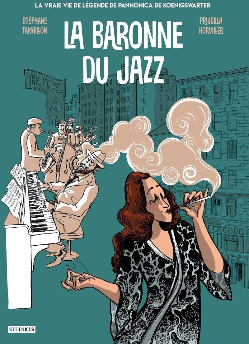 La baronne du jazz - Stéphane TAMAILLON - Livre - laflutedepan.com