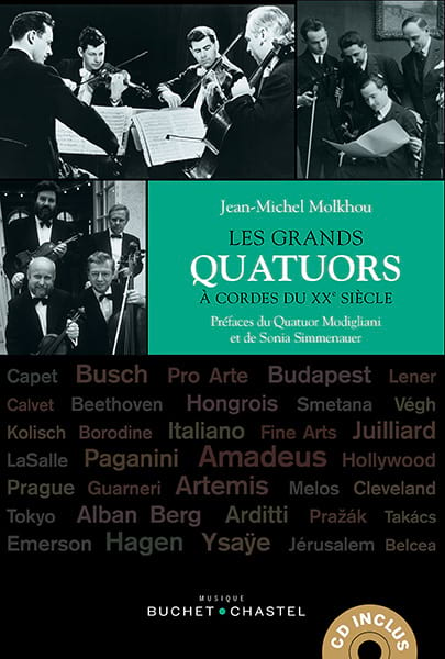 Jean-Michel MOLKHOU - The great string quartets of the 20th century - Livre - di-arezzo.co.uk