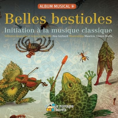 Belles bestioles - Ana GERHARD - Livre - laflutedepan.com