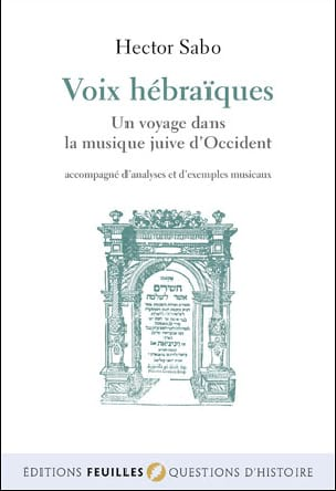 Hector SABO - Voix hébraïques - Livre - di-arezzo.fr