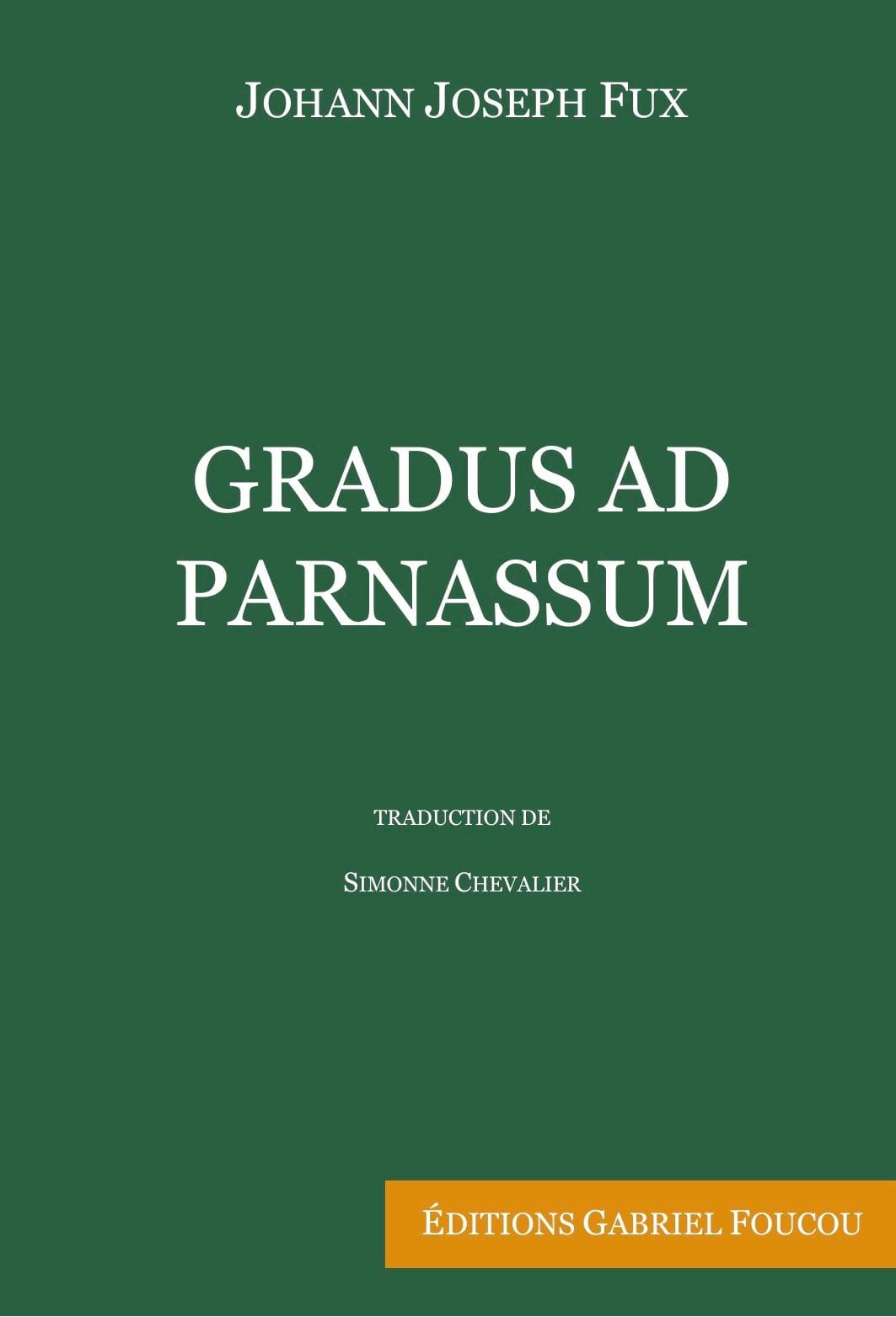 FUX Johann Joseph - Gradus Ad Parnassum - Livre - di-arezzo.es