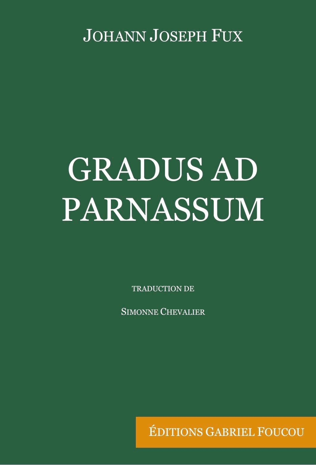 FUX Johann Joseph - Gradus Ad Parnassum - Livre - di-arezzo.de