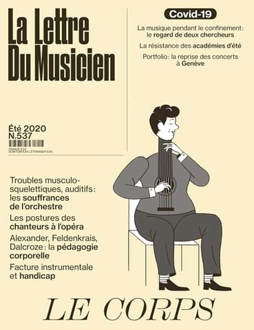 Revue - The Musician's Letter n ° 537 (July 2020): The Body - Livre - di-arezzo.co.uk