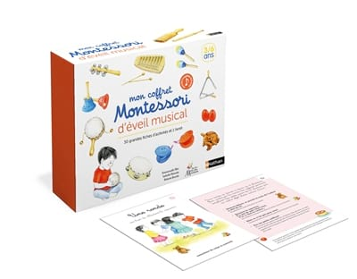 Emmanuelle BLIN - My Montessori musical awakening box - Livre - di-arezzo.co.uk