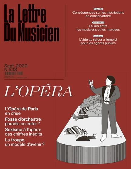 Revue - La lettre du musicien, n° 538 (septembre 2020) : L'opéra - Livre - di-arezzo.fr