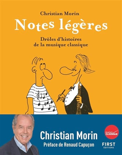 Notes légères : drôles d'histoires de la musique classique - laflutedepan.com