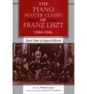 The piano master classes of Franz Liszt, 1884-1886 - laflutedepan.com