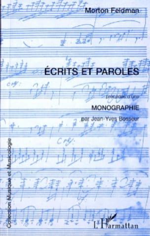 Écrits et paroles - Morton FELDMAN - Livre - laflutedepan.com