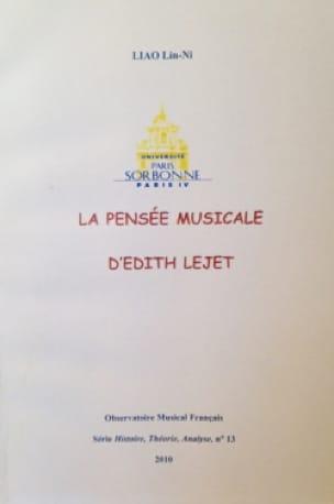La pensée musicale dEdith Lejet - Lin-Ni Liao - laflutedepan.com