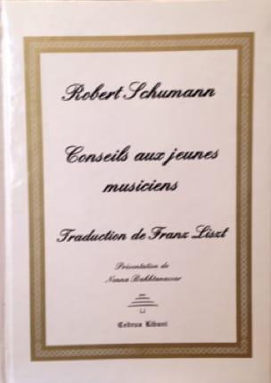 Robert SCHUMANN - Conseils aux jeunes musiciens - Livre - di-arezzo.fr