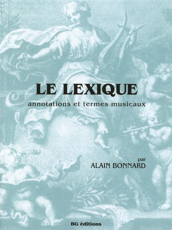 Alain BONNARD - The lexic - Livre - di-arezzo.com