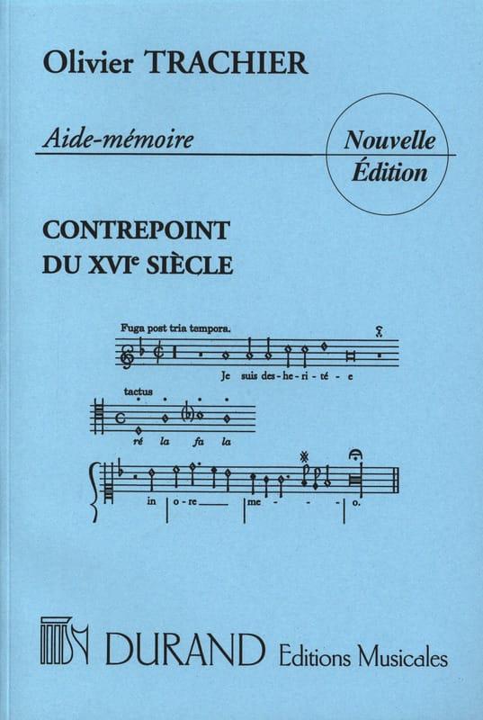 Olivier TRACHIER - Kontrapunkt Checkliste des 16. Jahrhunderts - Livre - di-arezzo.de