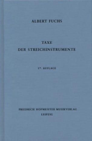 Taxe der Streichinstrumente, 17. Auflage - laflutedepan.com