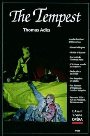 Avant-scène opéra (L'), n° 222 : The tempest - laflutedepan.com