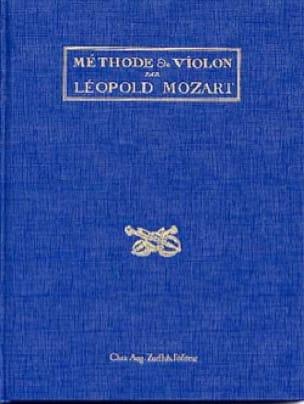 Méthode de violon - Leopold MOZART - Livre - laflutedepan.com