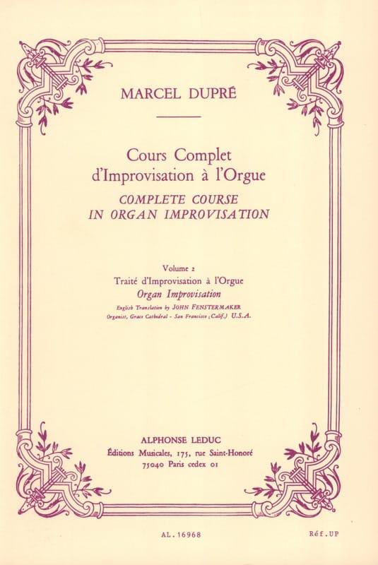Cours complet d'improvisation à l'orgue, volume 2 - laflutedepan.com