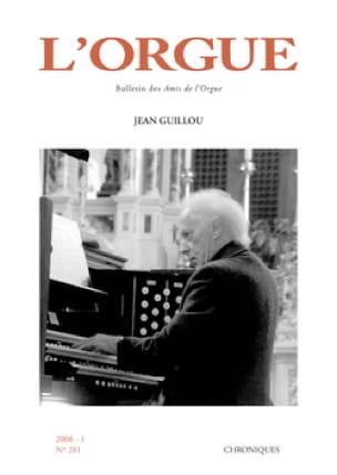 L'Orgue, n° 281 (2008/I) - Revue - Livre - Revues - laflutedepan.com