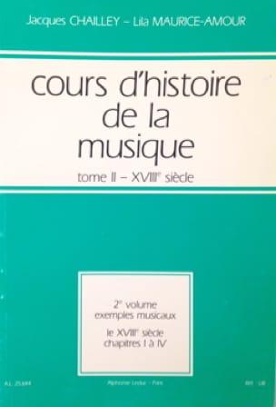 Cours d'histoire de la musique : Tome 2 vol. 2 - laflutedepan.com