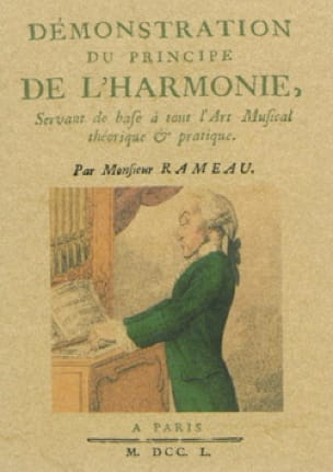 RAMEAU Jean-Philippe - Demonstration of the principle of harmony - Livre - di-arezzo.co.uk
