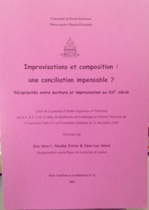 Improvisations et composition : une conciliation impensable ? - laflutedepan.com