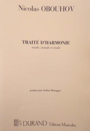 Traité d'harmonie - Nicolas OBOUHOV - Livre - laflutedepan.com