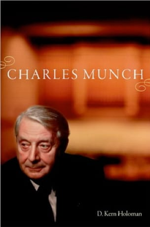 Charles Munch - HOLOMAN D. Kern - Livre - laflutedepan.com