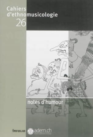 Revue - Cahiers d'ethnomusicologie, n ° 26: Humorous notes - Livre - di-arezzo.co.uk
