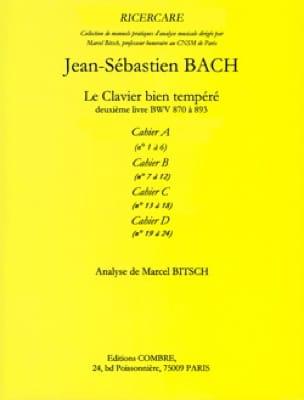 Analyse du Clavier bien tempéré de Bach : cahier A - laflutedepan.com