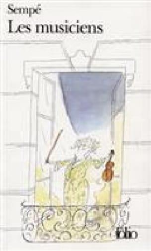 Les musiciens - SEMPÉ Jean-Jacques - Livre - laflutedepan.com
