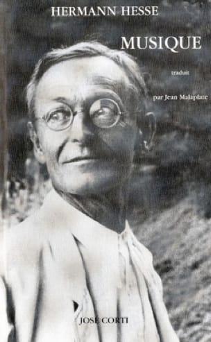 Musique - Hermann HESSE - Livre - Les Arts - laflutedepan.com