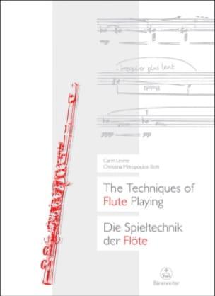 The Techniques of Flute Playing (Livre en anglais-allemand) - laflutedepan.com
