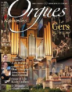 Orgues nouvelles n° 25 - Eté 2014 - Revue - Livre - laflutedepan.com