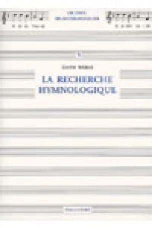 La recherche hymnologique - Edith WEBER - Livre - laflutedepan.com