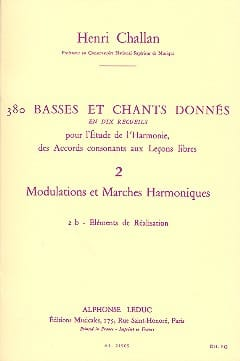 Henri CHALLAN - 380 BASSES AND SONGS GIVEN, Flight 2B - Livre - di-arezzo.com