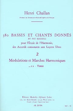 Henri CHALLAN - 380 BASSES AND SONGS GIVEN, vol 2A: texts - Livre - di-arezzo.com