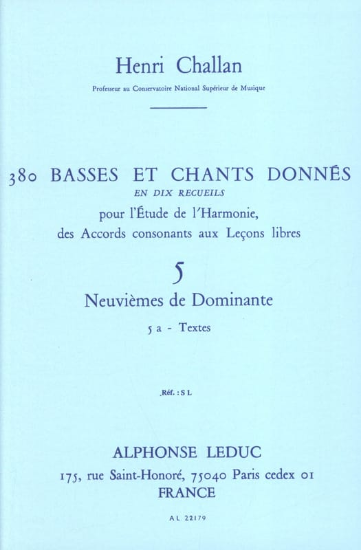 Henri CHALLAN - 380 BASSES AND SONGS GIVEN, vol 5A: texts - Livre - di-arezzo.com