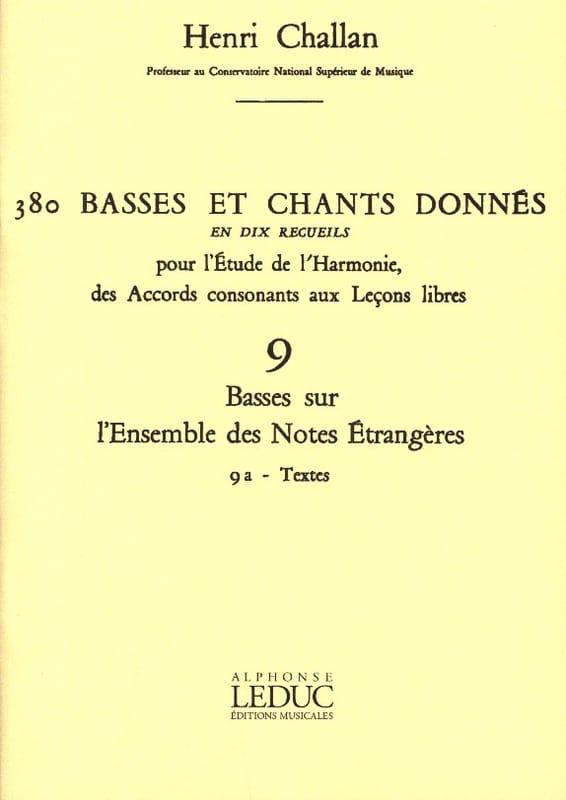 380 Basses et chants donnés - 9a - Textes - laflutedepan.com