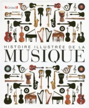 Histoire illustrée de la Musique - COLLECTIF - laflutedepan.com