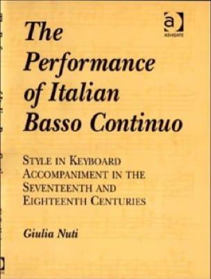 The Performance of Italian Basso Continuo - laflutedepan.com