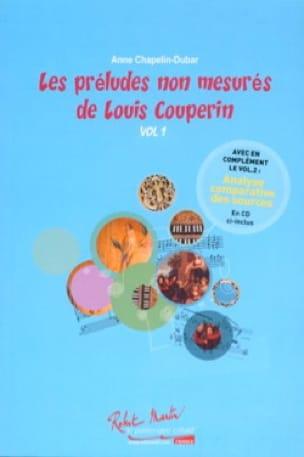 Les préludes non mesurés de Louis Couperin vol 1 - laflutedepan.com