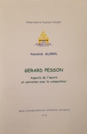 Gérard Pesson. Aspects de l'oeuvre et entretien avec le compositeur - laflutedepan.com