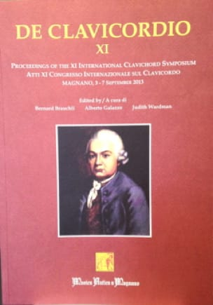 De Clavicordio XI - Bernard BRAUCHLI - Livre - laflutedepan.com