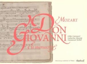 Don Giovanni de Mozart, le manuscrit - laflutedepan.com