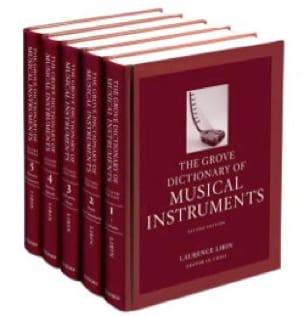 Grove dictionary of musical instruments - 5 volumes - laflutedepan.com