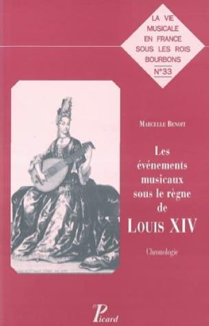 Les événements musicaux sous le règne de Louis XIV : chronologie - laflutedepan.com