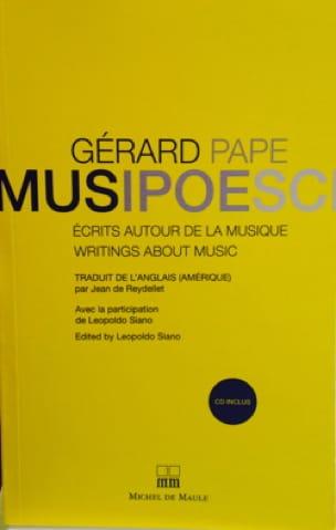 Musipoesci - Gérard PAPE - Livre - Les Hommes - laflutedepan.com