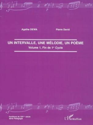 Agathe DEWA - Un intervalo, una melodía, un poema. - Livre - di-arezzo.es