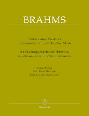 Performing Practices in Johannes Brahms' Chamber Music - laflutedepan.com
