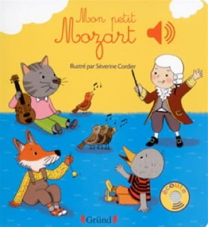 Mon petit Mozart - Séverine CORDIER - Livre - laflutedepan.com